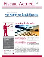 Fiscaal Actueel 2012-2