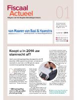Fiscaal Actueel 2014-1