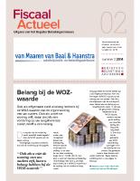 Fiscaal Actueel 2014-2