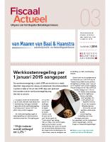 Fiscaal Actueel 2014-3