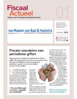 Fiscaal Actueel 2015-01